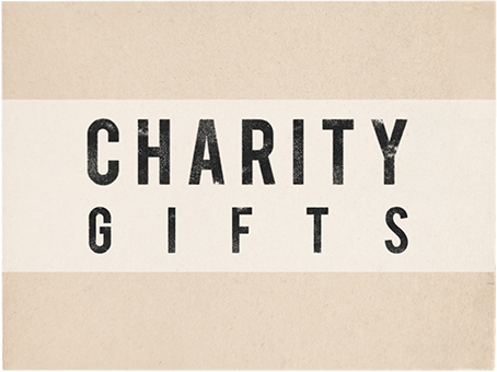 Charity Gifts
